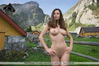 Susann Germany Naked Farm Femjoy Breathtaking Busty