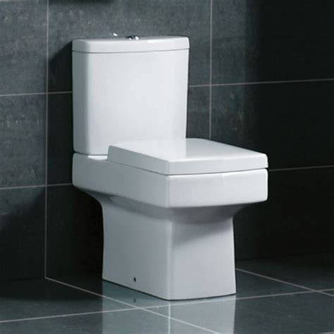 Square Modern Toilet With Soft Close Seat