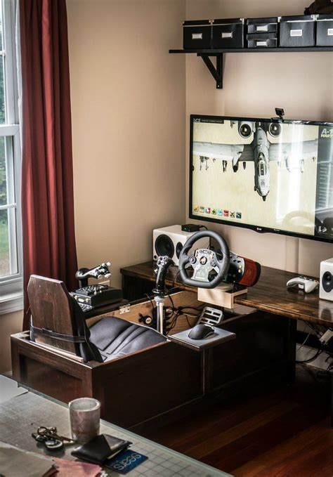 Best gaming desk for ps4. Best Trending Gaming Setup Ideas #ideas #PS4 #bedroom #Xbox #mancaves #computers #DIY #Desks # ...