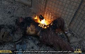PHOTOS: ISIS Shows Off Burned Iraqi Soldiers Bodies After ...