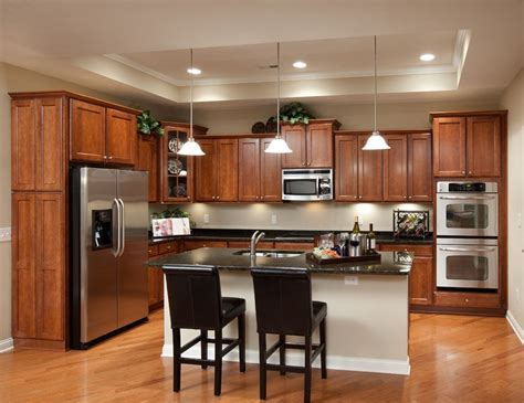 center islands in kitchens deluxe kitchen with center island stainless steel 5166