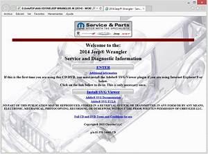 Jeep Wrangler Jk  2014  Service Manual