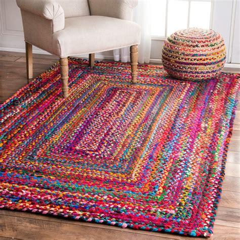 kilim runner nuloom casual handmade braided cotton multi rug 5 39 x 8
