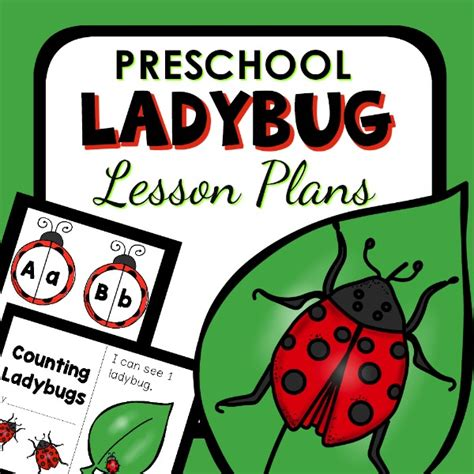 ladybug facts for preschool inspirations 651 | Preschool Ladybug Lesson Plans 600