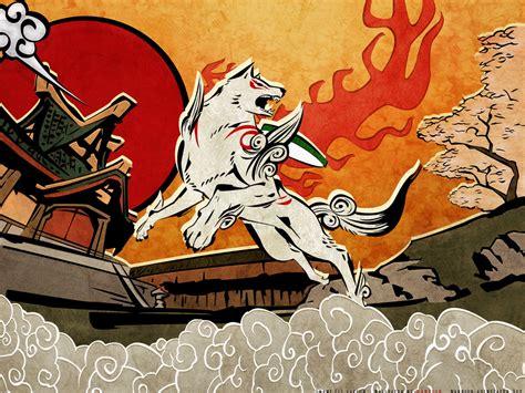 okami wallpaper  background image  id
