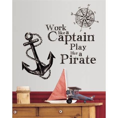New Work Like A Captain Play Like A Pirate Wall Decals. Decorative Jar. Decorative Deer Head. Great Room Furniture. Home Design Living Room. Silver Wall Mirrors Decorative. Cheap Rooms For Rent In Orlando. Cheap Dining Room Sets For Sale. Game Room Decor