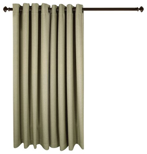 grand pointe room darkening patio panel with attachable