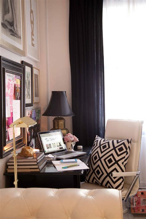 The Decorista's Eclectic + Glam Home Office Sayeh