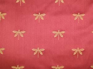 Swavelle-Millcreek Fabrics Imperial Dragonfly Maraschino
