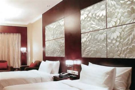 decorative  wall panels adding dimension  empty walls