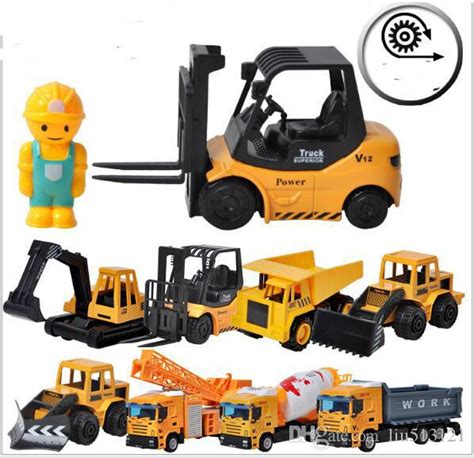 Toy Construction Vehicle Models Dhs Diecast Collectible