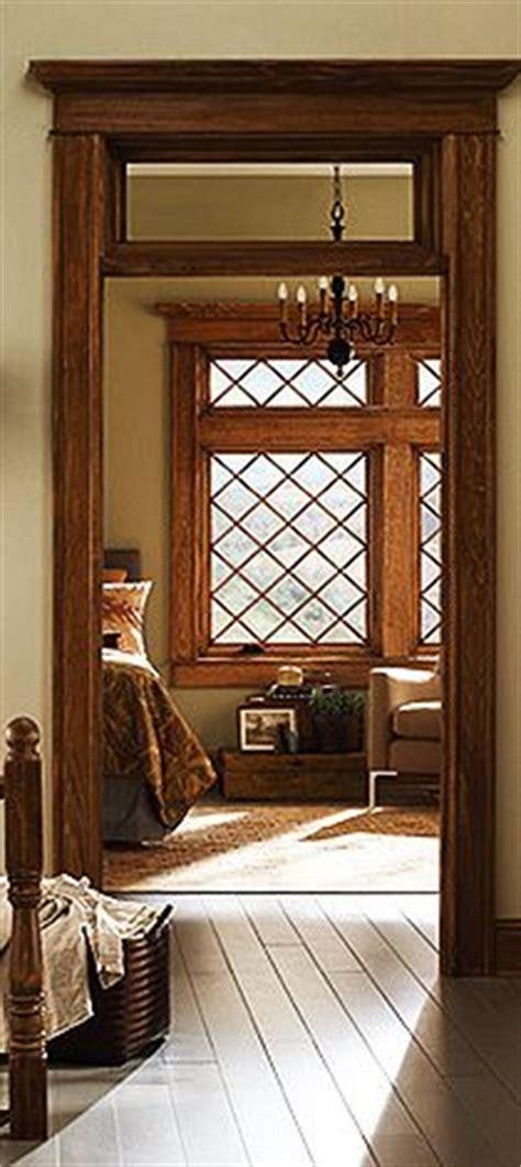 tudor features rectangular  diamond shaped window