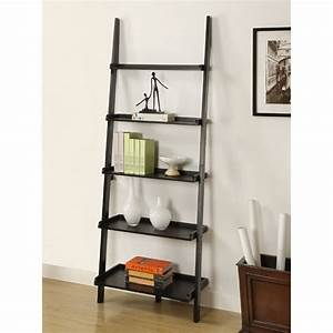 Image Gallery ladder bookcase