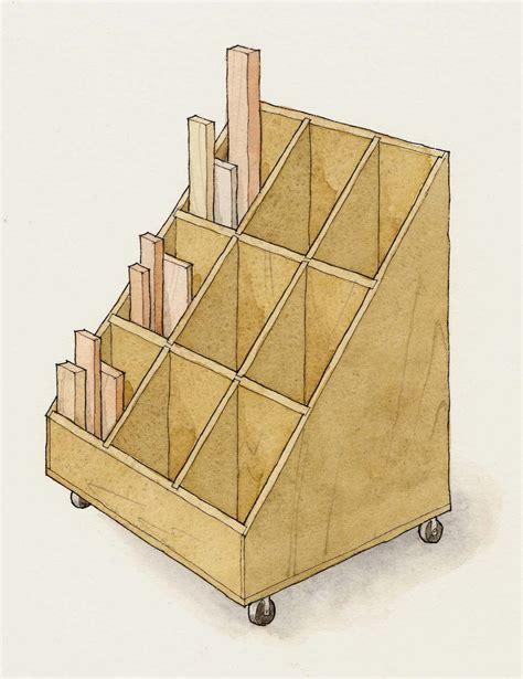 smart cart  scraps finewoodworking