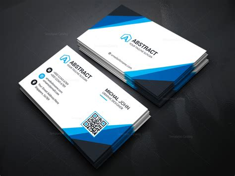 visiting card template  companies  template catalog