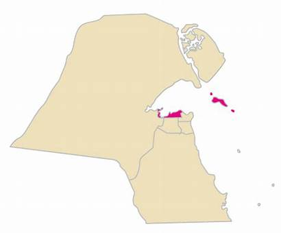 Kuwait Asima Hawalli Farwaniya Wikipedia Commons Mapa