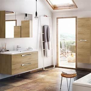 Meuble Salle De Bain Moderne : meuble salle de bain moderne mobilier armoires etc ~ Nature-et-papiers.com Idées de Décoration