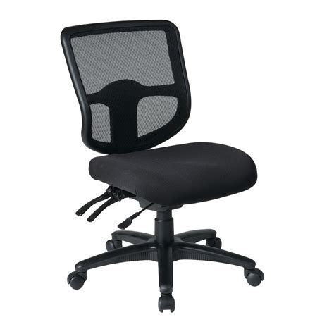 Bodybilt Chair Adjustment by Office 98341 Ergonomic Task Chair With Progrid Back