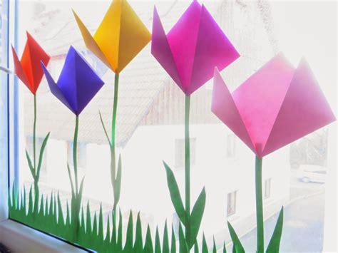 Frühlingsblumen Basteln Fürs Fenster by Bodenseewellen Eine Tulpenwiese F 252 R S Fenster