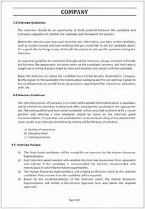 Policy And Procedure Manual Definition