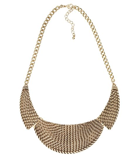 H&m Short Necklace In Gold
