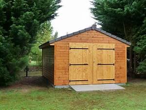 amdt maisons a ossature bois loiret 45 With plan de garage en bois