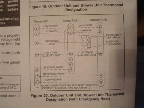 diagram    lenox thermostat wiring setup