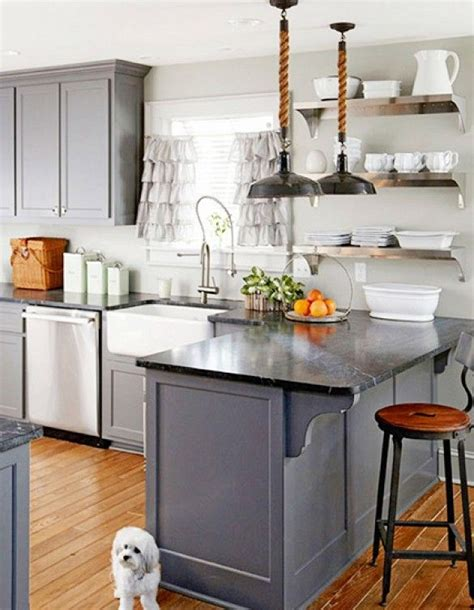 kitchen glass cabinets best 25 blue gray kitchen cabinets ideas on 1766