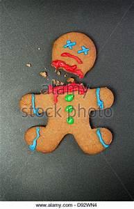 Gingerbread Man Broken Stock Photos & Gingerbread Man ...