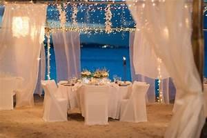 Wedding reception on the beachbeach wedding reception for Beach wedding reception ideas