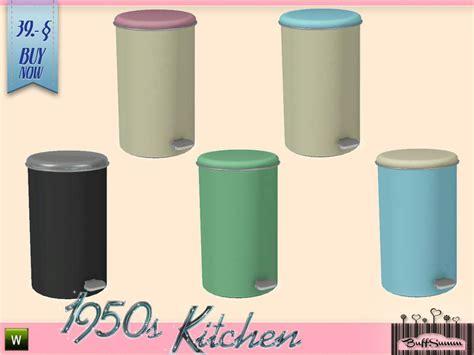 trash cans for kitchen buffsumm 39 s 1950s kitchen trashcan