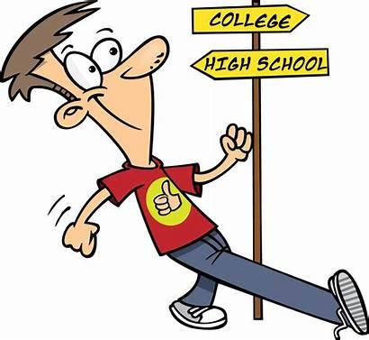 Student College Clipart Clip Cartoon Students Freshman