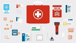First Aid Kit Diagram