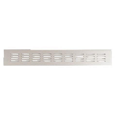 grille aeration chambre grille d 39 aération aluminium 80x300 renson bricozor