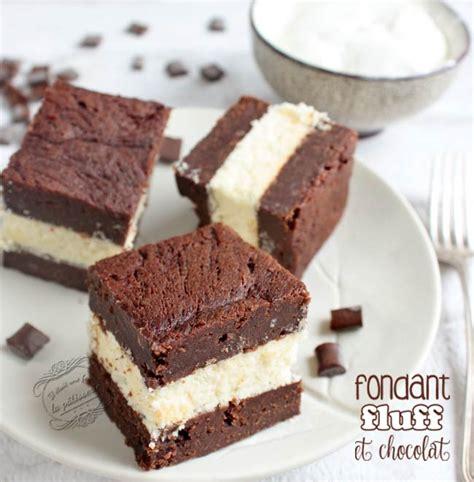 dessert avec du chocolat fondant au chocolat et au fluff il 233 tait une fois la