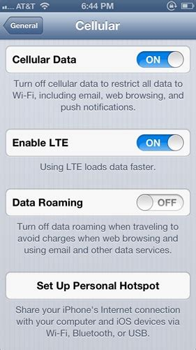 how to setup personal hotspot on iphone how setup a personal hotspot wifi on an iphone 5 with ios 6