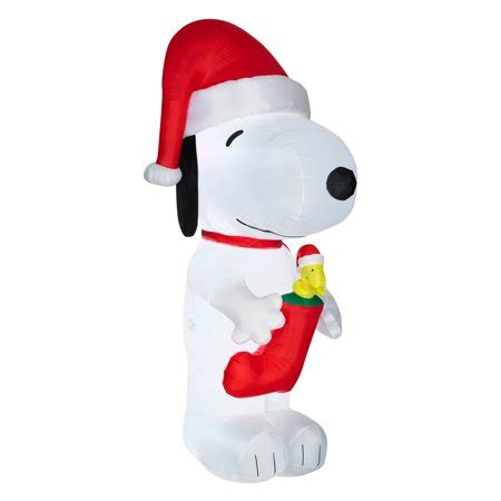 giant snoopy  woodstock  stocking airblown