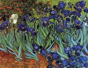 Irises By Vincent Van Gogh The Beautiful Blog