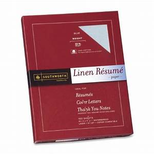 southworth linen resume paper blue 32 pounds 100 With blue resume paper