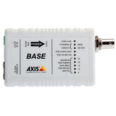axis t8641 poe coax base base einheit expert security de