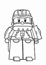 Poli Robocar Coloring Pages Children Printable Characters Justcolor sketch template