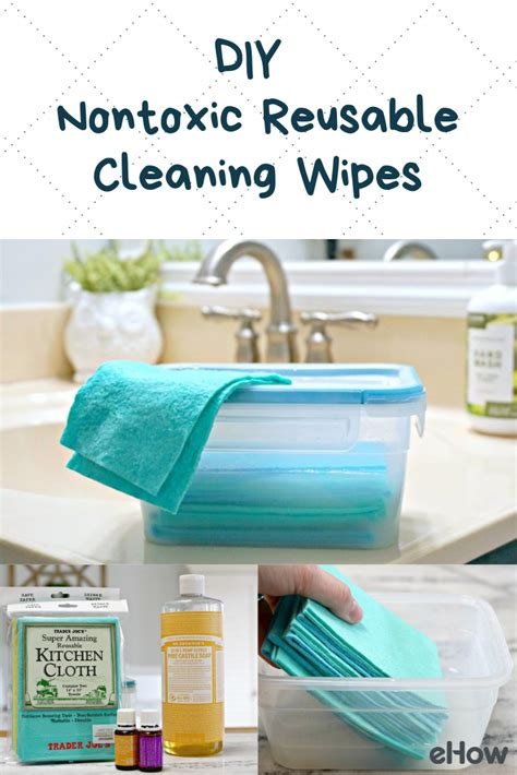 easy     diy reusable cleaning