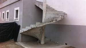 Escalier Colimaçon Beton : escalier colimacon en beton ~ Melissatoandfro.com Idées de Décoration