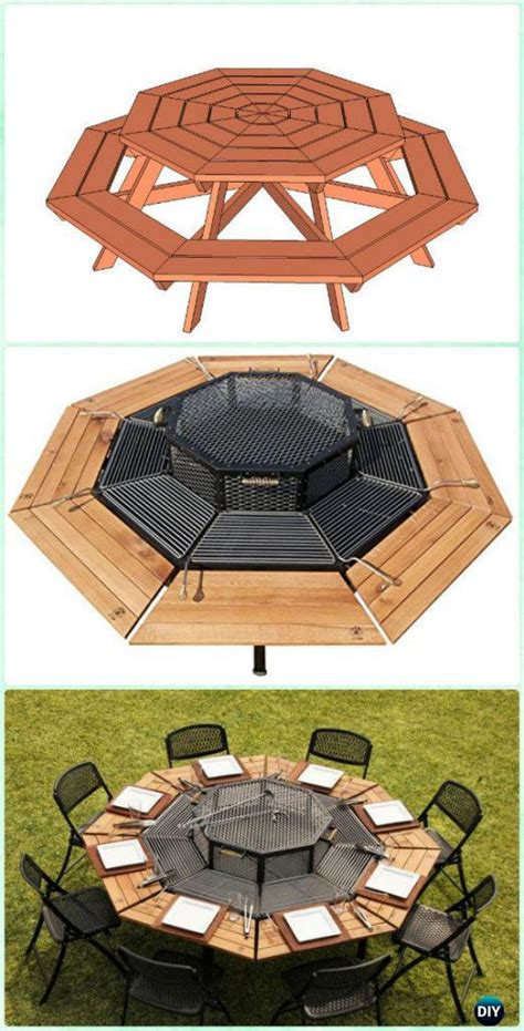 diy backyard bbq grill projects instructions
