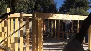 Construire Un Garage En Bois Soi Meme : construire un garage en ossature bois youtube ~ Dallasstarsshop.com Idées de Décoration