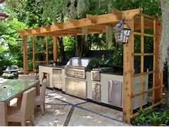 Outdoor Kitchen Plans by Simple Outdoor Kitchen Ideas 7087 BayTownKitchen