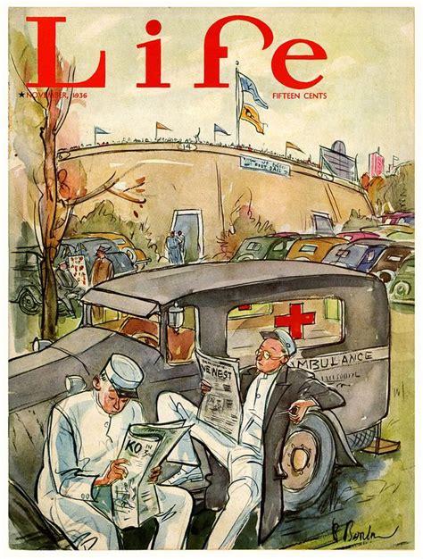 November 1936 Final Issue Life Magazine Poster Prints