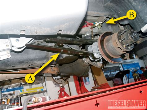 dodge ram  air suspension install diesel power