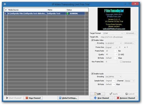 ip transcoding live