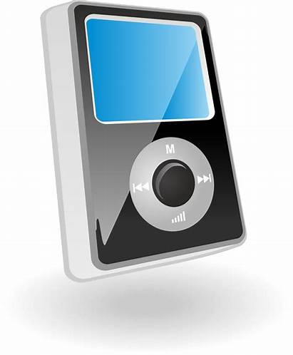 Mp3 Player Clipart Vector Players Transparent Waider